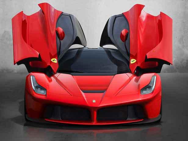 Супергибрид Ferrari LaFerrari. Всего 499 штук