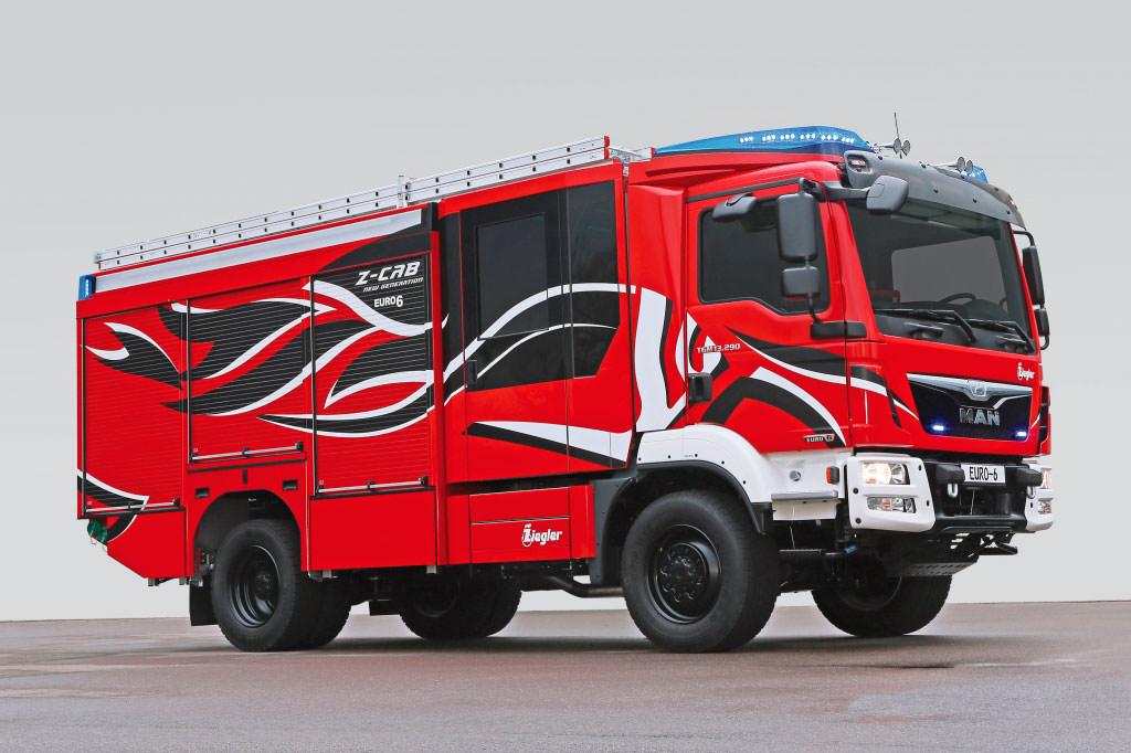 Пожарный MAN Firetruck Euro6