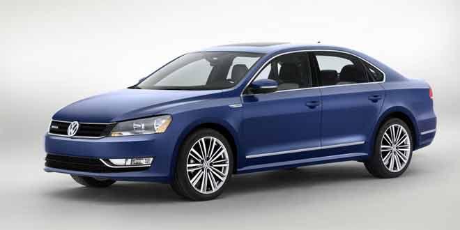 Volkswagen Passat BlueMotion Concept 2014 года