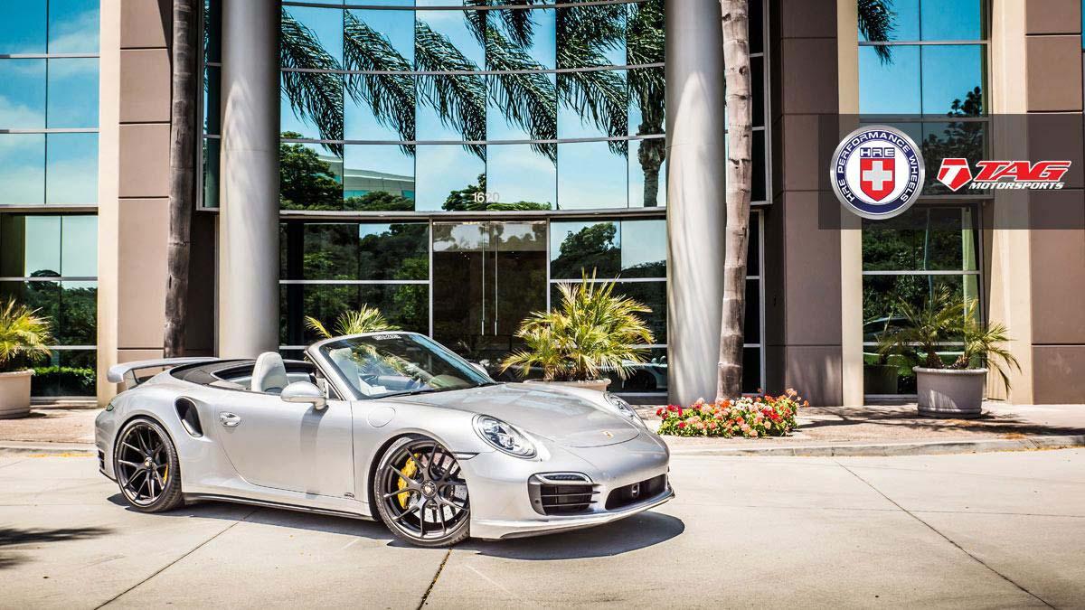 Тюнинг Porsche 911 Turbo S от TAG Motorsports