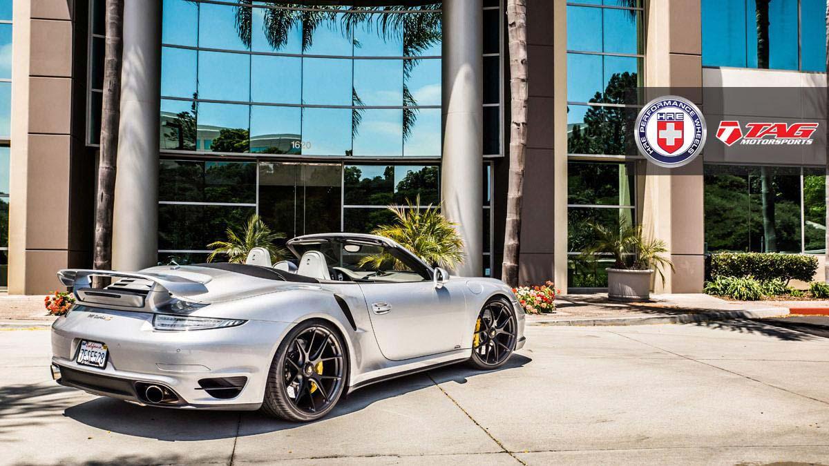 Стильный кабриолет Porsche 911 Turbo S от TAG Motorsports