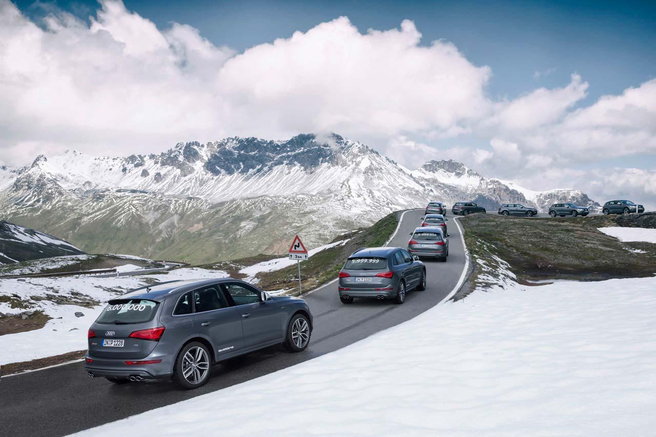 Фото | Audi SQ5: шестимилионный автомобиль Audi с quattro