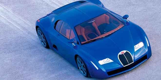 Bugatti EB18/3 Chiron Concept. 1999 год