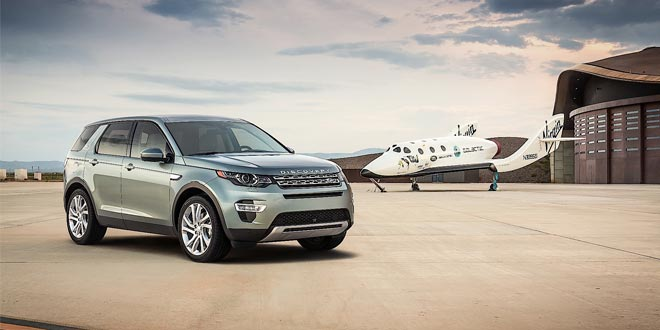 Новый Land Rover Discovery Sport