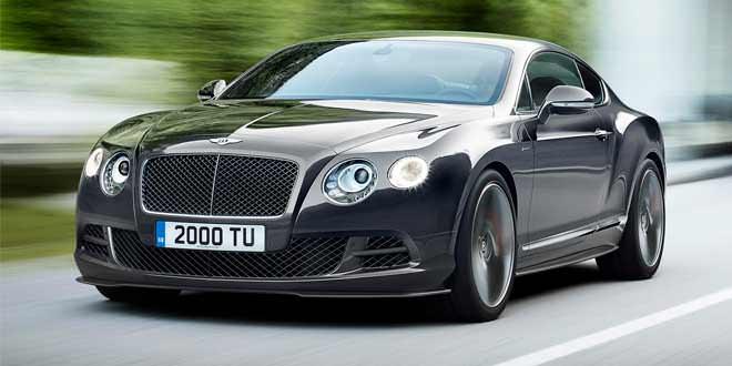 Новый Bentley Continental построят на платформе от Panamera
