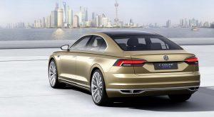 Концепт Volkswagen C Coupe GTE