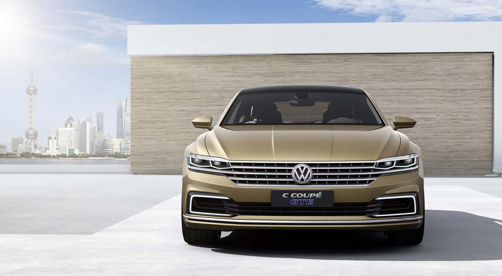 Новый Volkswagen C Coupe GTE