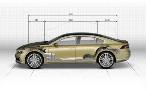 Габариты Volkswagen C Coupe GTE