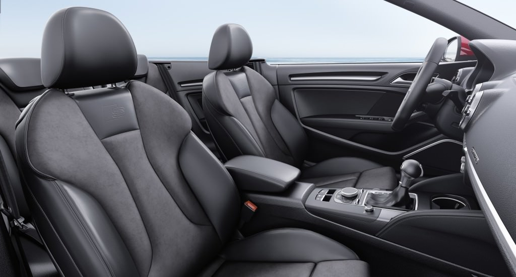 Салон Audi A3 Cabriolet 2017