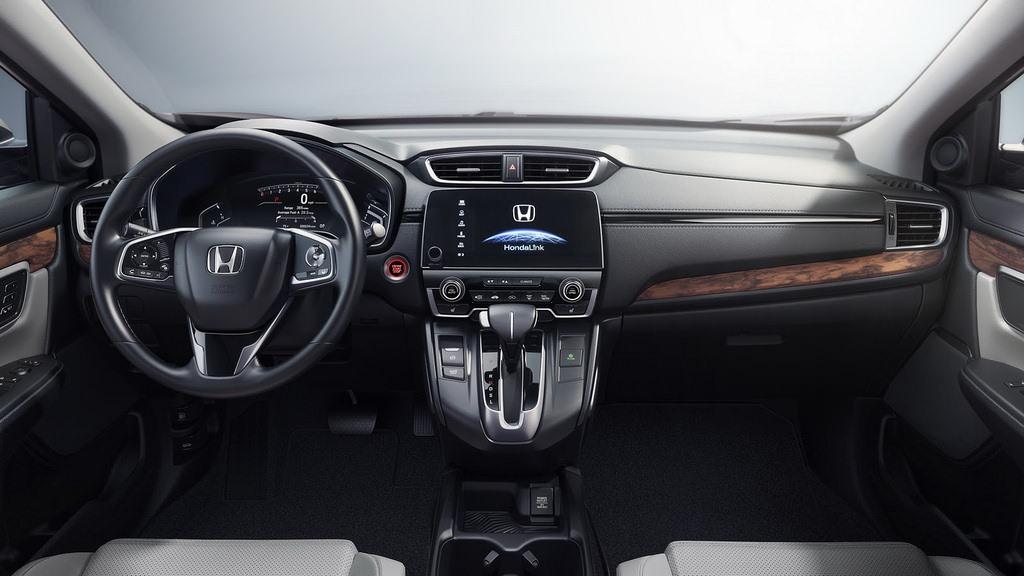 Приборная панель Honda CR-V 2017