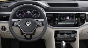 Водительское место Volkswagen Atlas