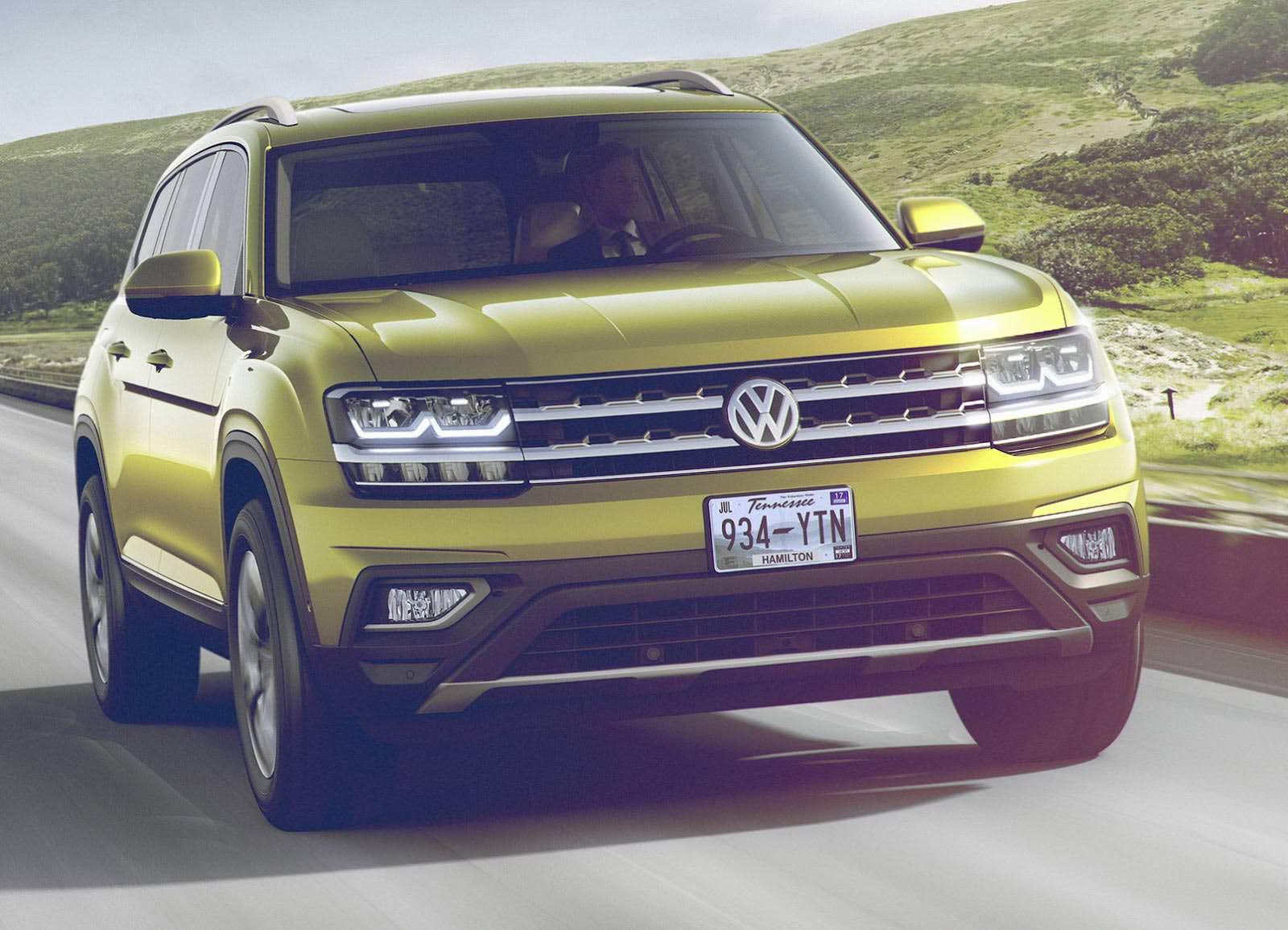 Новый Volkswagen Atlas
