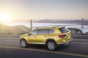 Новый семиместный кроссовер Volkswagen Atlas