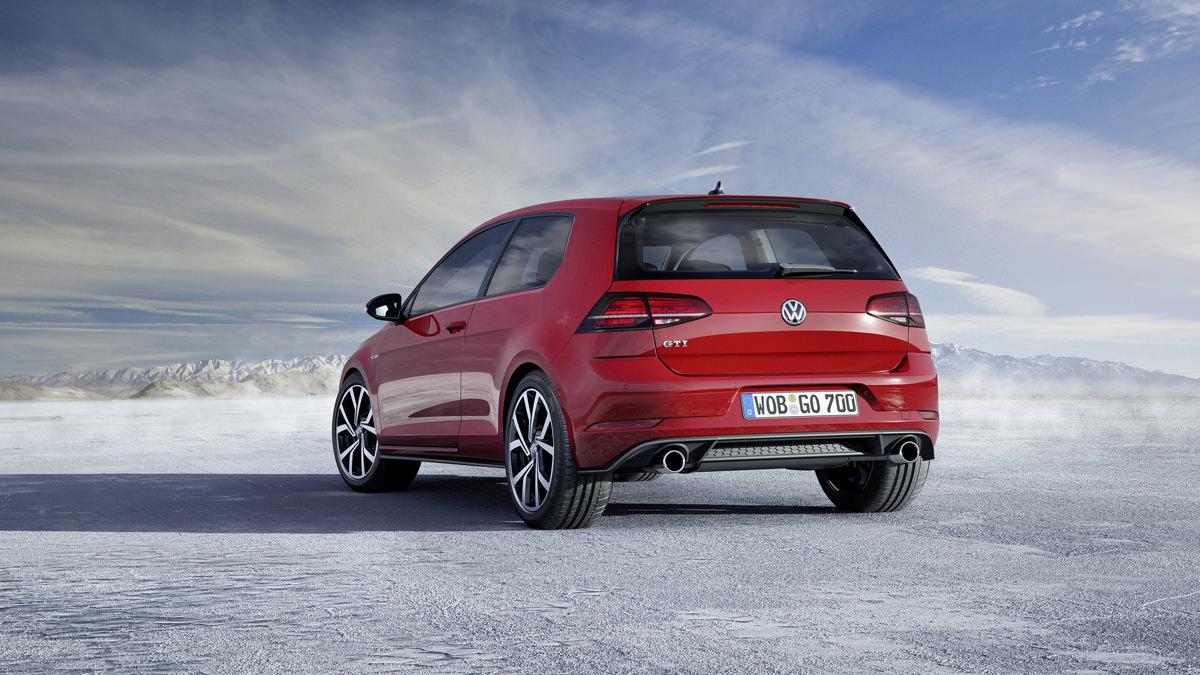 Новый Volkswagen Golf GTI 2017 рестайлинг