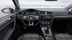 Салон Volkswagen Golf GTI 2017 рестайлинг