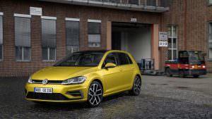 Новый Volkswagen Golf R 2017 рестайлинг