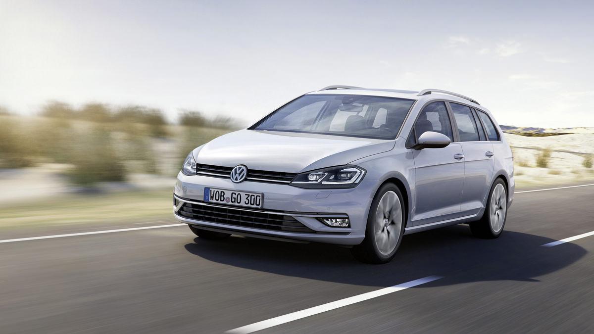 Новый универсал 2017 VW Golf Variant