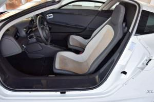 Интерьер Volkswagen XL1