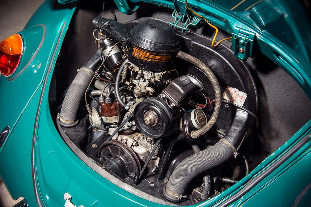 Двигатель VW Beetle
