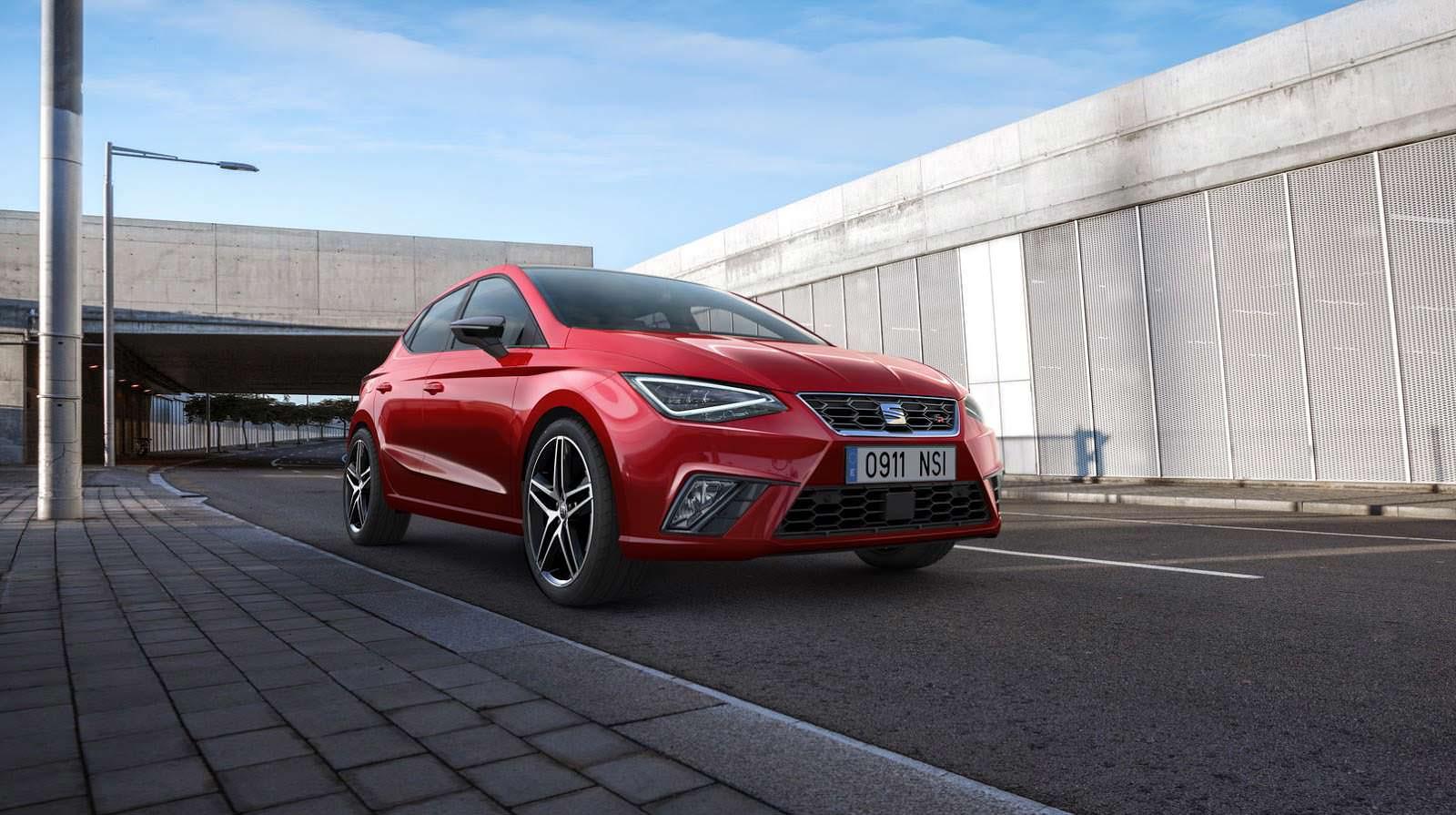 Новый SEAT Ibiza пятого поколения