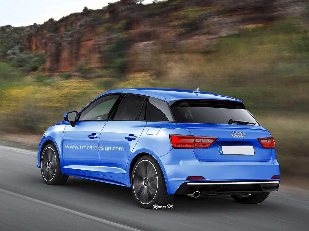 Audi A1 второго поколения, неофициальное фото
