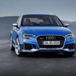 «Заряженный» хэтчбек Audi RS3 2017