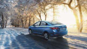 Седан Hyundai Solaris 2017