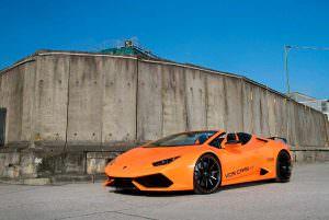 Тюнингованный Lamborghini Huracan Spyder