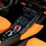 Центральная консоль Lamborghini Huracan Spyder