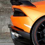 Задний бампер Lamborghini Huracan Spyder