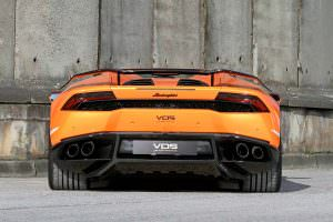 Тюнинг Lamborghini Huracan Spyder от VOS Performance