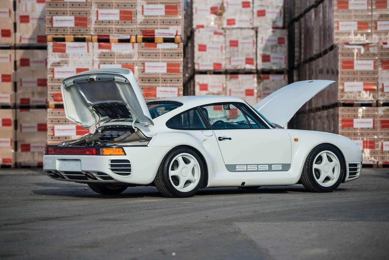 Самый дорогой Porsche 959 Sport