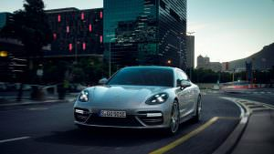Гибридная Porsche Panamera Turbo S E-Hybrid