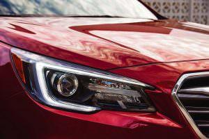 Новые фары Subaru Legacy 2018