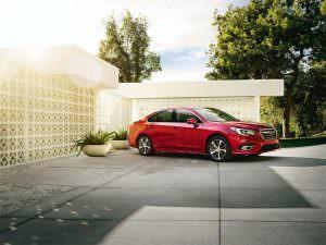 Новая Subaru Legacy 2018