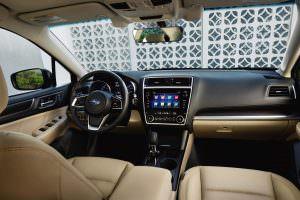 Салон Subaru Legacy 2018