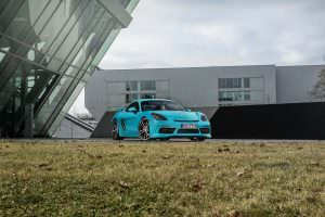 Тюнинг Porsche 718 Cayman от TechArt