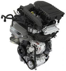 Трехцилиндровый бензиновый двигатель 1.0 TSI