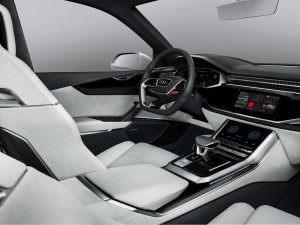 Интерьер Audi Q8 Sport Concept