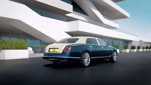 Седан Bentley Mulsanne Hallmark Series
