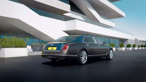 Bentley Mulsanne Hallmark Series: золото и серебро