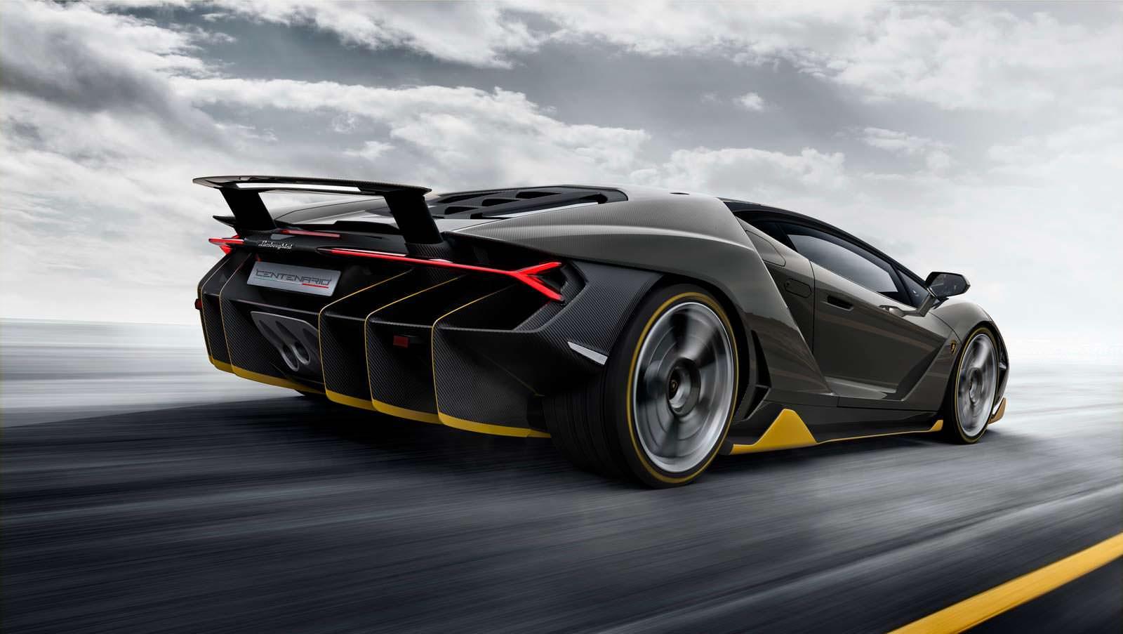Фото Lamborghini Centenario 2016