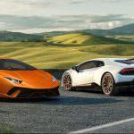 Экстремальный суперкар Lamborghini Huracan Performante