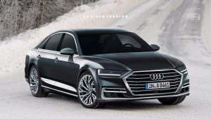 Неофициальное фото Audi A8 2018