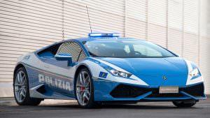 Фото   Полицейский Lamborghini Huracan
