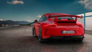 Трековый спорткар Porsche 911 GT3 2018
