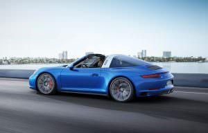 Фото Porsche 911 Targa 4S от Porsche Exclusive