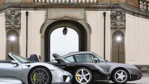 Porsche 959, 918 Spyder, Carrera GT
