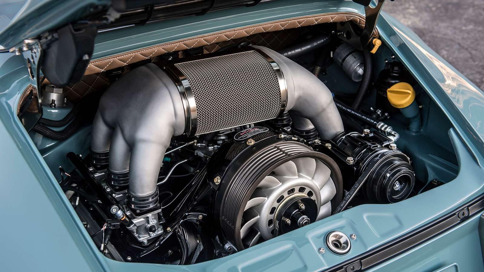 4,0-литровый двигатель с воздушным охлаждением Porsche 911