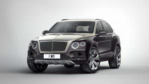 Тюнинг Bentley Bentayga от Mulliner